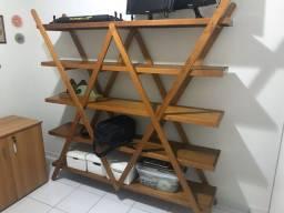 Vendo estante de madeira tok&stok 180x35