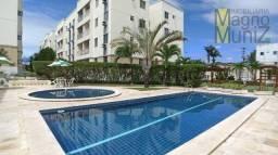 Apartamento com 3 dormitórios para alugar, 56 m² por R$ 1.200,00/mês - Messejana - Fortale