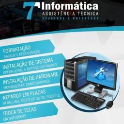 Assistência técnica para computadores e Eletrônica