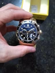 Invicta Scuba Pro Diver 23650 48mm Banhado Ouro Original