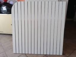 Painel Canaletado com Perfil de Alumínio