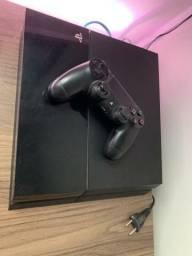 PS4 Fat 2 Controles 2 Jogos