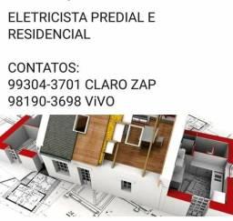 Eletricista Prédial e Residencial