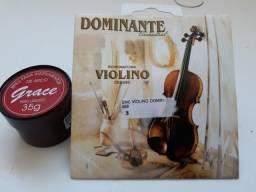 Vendo corda violino