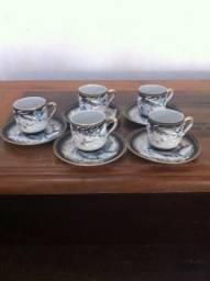 Jogo De Café Porcelana Japonesa