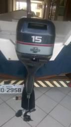 Motor de popa 15 HP - 2000
