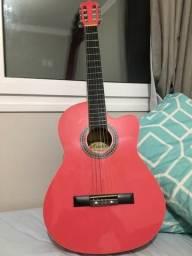 Vendo violão Rosa ótimo estado com cordas de naylon