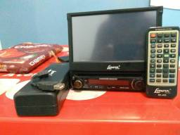 DVD automotivo lenoxx AD-1845