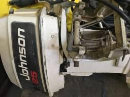Motor popa Johnson 25 hp - 1992