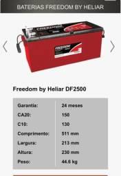 Baterias Freedon by Heliar 2 anos de garantia