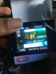 Camera esporte 4k WiFi nova