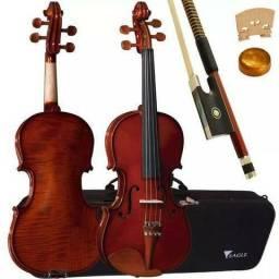 Eagle Violino 4/4 Vk644 Envelhecido Verniz Com Estojo Produto Novo Loja Fisica
