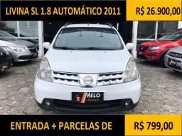 Livina SL 1.8 Automático 2011 - 2011