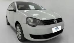VW Volkswagem Polo Sedan 1.6 Prata 2012 Completo - 2012