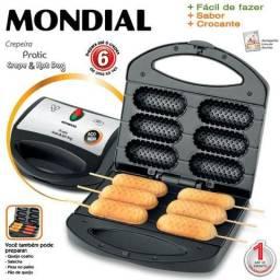 Crepeira E Cachorro Quente Mondial 220 volts