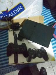 Playstation 2 destravado com memory card matrix OPL roda jogos do HD