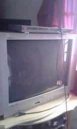 TV DE TUBO 29 polegadas mais DVD apenas 120$