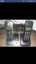 Telefones sem fio funcionando
