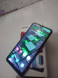 Samsung Galaxy A10s completo com 2 meses de uso, Nota fiscal, Caixa, chave do CHIP
