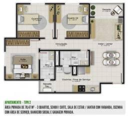 Venda Apartamento Guanabara - R$ 57.000,00 (Financiado)