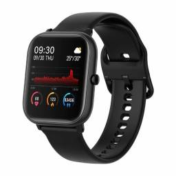 Relógio Inteligente Colmi P8 Esportes Fitness Tracker Preto