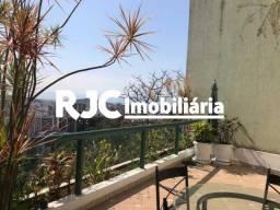 Apartamento à venda com 4 dormitórios em Tijuca, Rio de janeiro cod:MBAP40465