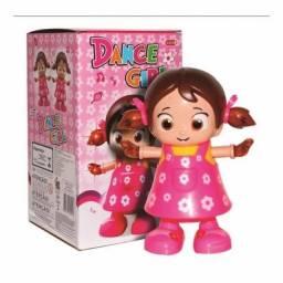 Dance Girl Boneca Musical Com Luz,Que Canta E Dança