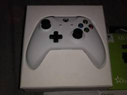 Controle Xbox One + Bateria