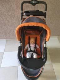 Carrinho de Bebê c/ Bebê Confort INFANTI Onyx Off Road
