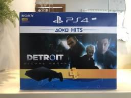 Play Station 4 Slim 1TB PS4 1 Jogo Novo Tenho a Pronta entrega