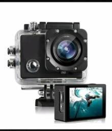 Filmadora e Câmera Action Sports
