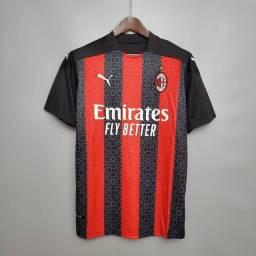 Camisa do Milan todos os tamanhos disponível