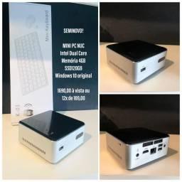 Computador Desktop NUC - ( Semi novo ) - ( Com Garantia )