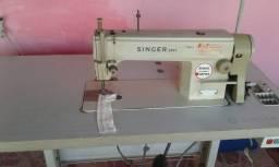 Máquina reta industrial singer 2491 Semi nova