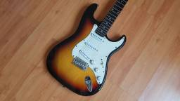 Guitarra Squier koreana vintage sunburst epiphone fender gibson