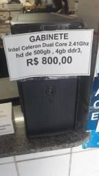 Gabinete Novo Dual Core