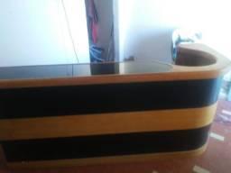 Balcão madeira - Aceito CARTÃO