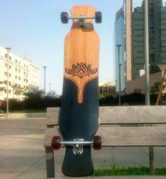 "Longboard Flowing Lotus 49"" - Bamboo - Exclusivo!!!"