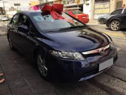 Honda Civic Lxs 1.8 T.flex Azul Esmaltado - Único dono - IPVA 2020 Pago - Top de Linha.