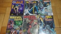 Lote de Revistas e HQs da DC e Marvel - MAS05