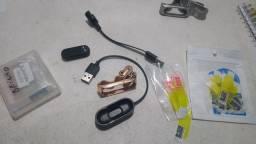 Película, pulseira e carregador mi Band 4