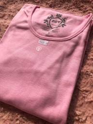 Blusinha feminina Rosa claro