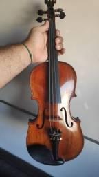 Violino 4/4 Harmonizado + espaleira + arco + case + breu
