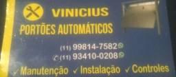 Técnico e instalador de portão automático