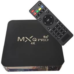 Tv Box Mxq 4K 5g 32Gb Transforme sua Tv em Smart