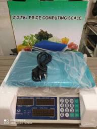 Balança digital que pesa até 40kg<br>Com tara da preço ,ideal para seu comércio