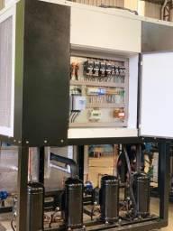 Chiller 180.000kcal Ar - Geladeira Industrial -Unidade de água gelada