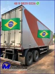 Semi-reboque Carga Seca 02 Eixo Marca: Ibipora Capacidade: 22 pallets Ano/mod: 2020