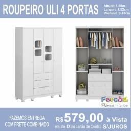 Roupeiro Uli 4 portas