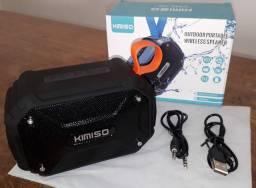 Cor: Preto / Caixinha Bluetooth Kimiso KMS-112
